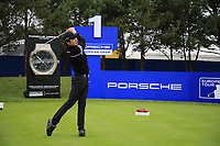 Jeunghun  Wang (KOR) during the Pro-Am at the  Porsche European Open, Green Eagles Golf Club, Luhdorf, Winsen, Germany. 04/09/2019.<br /> Picture Fran Caffrey / Golffile.ie<br /> <br /> All photo usage must carry mandatory copyright credit (© Golffile | Fran Caffrey)