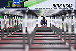 EUGENE, OR - JUNE 8: Grant Holloway of the Florida Gators races to victory in the 110 meter hurdles during the Division I Men's Outdoor Track & Field Championship held at Hayward Field on June 8, 2018 in Eugene, Oregon. (Photo by Jamie Schwaberow/NCAA Photos via Getty Images)