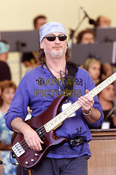 ROGER GLOVER (DEEP PURPLE).Pavarotti And Friends.Modena, 31st May 2001.www.capitalpictures.com.sales@capitalpictures.com.©Capital Pictures