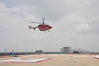 Memorial Hermann Life Flight Helicopter Dedication to Jim R. Smith and Family