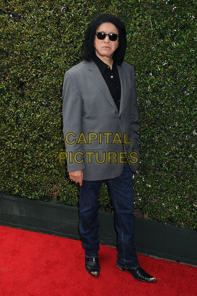 13 April 2014 - West Hollywood, California - Gene Simmons. John Varvatos' 9th Annual Stuart House Benefit held at John Varvatos Boutique. <br /> CAP/ADM/BP<br /> &copy;Byron Purvis/AdMedia/Capital Pictures