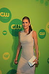"Paige Turco - AMC now on ""The 100"" as ""Abby"" at the CW Upfront on May 16, 2013 at London Hotel, New York City, New York. (Photo by Sue Coflin/Max Photos)"