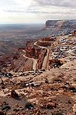 USA, Utah, Goosenecks National Park, near Mexican Hat, Mendenhall Loop
