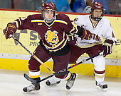 Matt Verdone, Mike Brennan - The Boston College Eagles and Ferris State Bulldogs tied at 3 in the opening game of the Denver Cup on Friday, December 30, 2005, at Magness Arena in Denver, Colorado.  Boston College won the shootout to determine which team would advance to the Final.