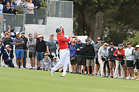Patrick Cantlay (USA) on the 10th fairway during the First Round - Four Ball of the Presidents Cup 2019, Royal Melbourne Golf Club, Melbourne, Victoria, Australia. 12/12/2019.<br /> Picture Thos Caffrey / Golffile.ie<br /> <br /> All photo usage must carry mandatory copyright credit (© Golffile | Thos Caffrey)