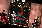 (LtoR) Artists Oriol Boixader, Fernando Soto, Manuel Tallafe and Tomasito during the performance of Chufla. September 25, 2019. (ALTERPHOTOS/Johana Hernandez)