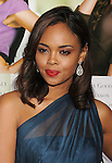 """HOLLYWOOD, CA - FEBRUARY 09: Sharon Leal arrives at the """"Think Like A Man"""" Los Angeles Premiere at the ArcLight Cinemas Cinerama Dome on February 9, 2012 in Hollywood, California."""