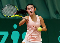 Wateringen, The Netherlands, March 9, 2018,  De Rijenhof , NOJK 12/16 years, Min Kim (NED)<br /> Photo: www.tennisimages.com/Henk Koster