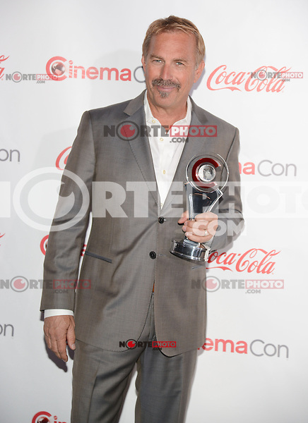 LAS VEGAS, NV - March 27: Cinema Icon Award winner Kevin Costner at the CinemaCon Big Screen Achievement Awards on March 27, 2014 in Las Vegas, Nevada. © Kabik/ Starlitepics