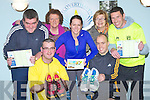 RUNNERS: Runners with members of Recovery Haven who will run in the Tralee Marathon in March 2013 who launched their run to raise fund for the Recovery Haven Haigs Terrace, Tralee, on Saturday evening at The Recovery Haven,Tralee. Front l-r: Andrew Barrett and Tony Corridon. Back l-r: Eoin Kelliher, Philomena Stack (Recovery Haven), Bridget Moore, Maureen O';Brien (recovery Haven) and Fergus O'Connor).