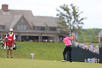 Thomas Aiken (RSA) plays his 2nd shot on the 10th hole during Saturday's Round 3 of the 117th U.S. Open Championship 2017 held at Erin Hills, Erin, Wisconsin, USA. 17th June 2017.<br /> Picture: Eoin Clarke | Golffile<br /> <br /> <br /> All photos usage must carry mandatory copyright credit (&copy; Golffile | Eoin Clarke)