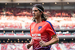 Filipe Luis of Atletico de Madrid is seen prior to the La Liga 2018-19 match between Atletico de Madrid and Rayo Vallecano at Wanda Metropolitano on August 25 2018 in Madrid, Spain. Photo by Diego Souto / Power Sport Images