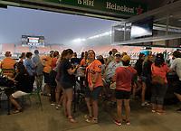Houston, TX - Wednesday, July 11, 2018: Houston Dash vs Orlando Pride at BBVA Compass Stadium.