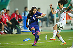 Nahomi Kawasumi (JPN), <br /> SEPTEMBER 18, 2014 - Football / Soccer : <br /> Women's Group Stage <br /> between Japan Women's - Jordan Women's <br /> at Namdong Asiad Rugby Field <br /> during the 2014 Incheon Asian Games in Incheon, South Korea. <br /> (Photo by YUTAKA/AFLO SPORT)