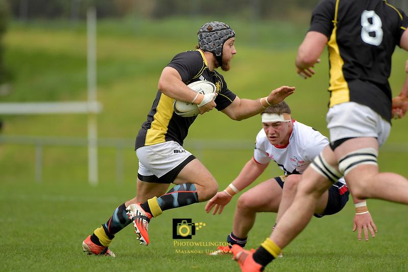 Rugby - Wellington Development v Tasman Development at Porirua Park, Porirua, New Zealand on Saturday 8 October 2016.<br /> Photo by Masanori Udagawa. <br /> www.photowellington.photoshelter.com.