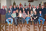 JOHN MITCHELS: The Member's of John Mitchels club having a great time at their Committees, Managers and Mentors End of Year party at the clubhouse on Saturday seated l-r: Eoin Kelliher, Bertie Flynn, Sherley O'Brien, Jimmy Moriarty, Anne Eager, Bri?d McElligott, Andrea O'Connor, Cora McElligott and Karl Keohane. Back l-r: Paddy Mahoney, John Dalton, Michael Kelliher, Frank O'Donnell, Conor Donovan, Liam Connolly, Pat Brosnan, Joe Myers, Aine Brosnan, David O'Brien, Alan O'Brien, Karen Ivors, Ger Dan Dennehy, Ed Stack, Dick Sullivan and Johnny Kelliher.   Copyright Kerry's Eye 2008
