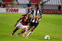 ATENCAO EDITOR: FOTO EMBARGADA PARA VEÍCULOS INTERNACIONAIS. - RIO DE JANEIRO, RJ, 26 DE SETEMBRO DE 2012 - CAMPEONATO BRASILEIRO - FLAMENGO X ATLETICO MG - Richarlyson, jogador do Atletico MG, durante partida contra o Flamengo, pela 14a rodada do Campeonato Brasileiro, no Stadium Rio (Engenhao), na cidade do Rio de Janeiro, nesta quarta, 26. FOTO BRUNO TURANO BRAZIL PHOTO PRESS