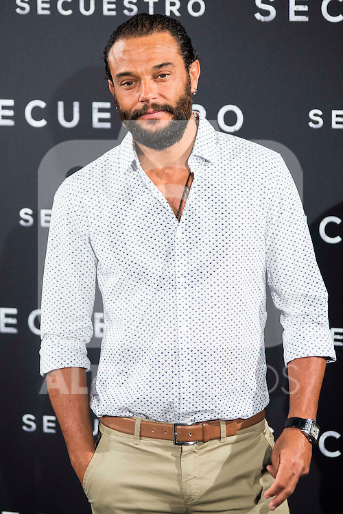 "Paco Manzanedo during the presentation of the spanish film ""Secuestro"" in Madrid. July 27. 2016. (ALTERPHOTOS/Borja B.Hojas)"