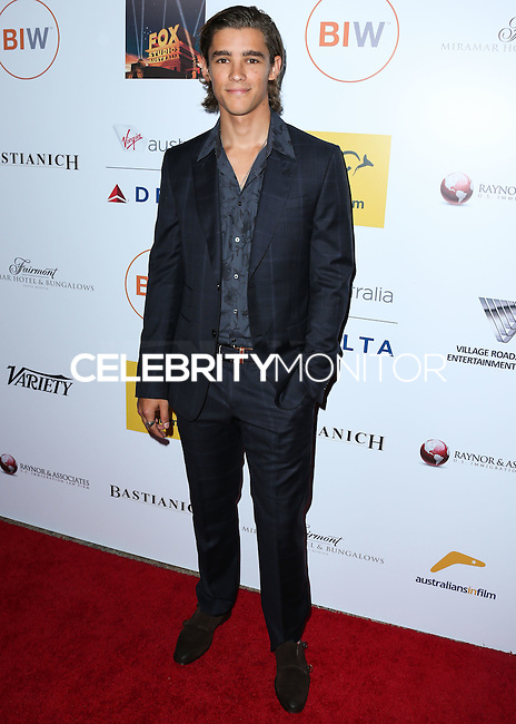 SANTA MONICA, CA, USA - OCTOBER 26: Brenton Thwaites arrives at the 3rd Annual Australians in Film Awards Benefit Gala held at the Starlight Ballroom at Fairmont Miramar Hotel & Bungalows on October 26, 2014 in Santa Monica, California, United States. (Photo by Xavier Collin/Celebrity Monitor)
