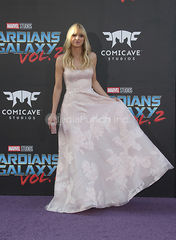 """HOLLYWOOD, CA - April 19: Anna Faris, At Premiere Of Disney And Marvel's """"Guardians Of The Galaxy Vol. 2"""" At The Dolby Theatre  In California on April 19, 2017. Credit: FS/MediaPunch"""