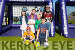 In the picture are Adam O'Neill, Adam O'Connor, Ryan O'Leary, Ava O'Leary, Rebecca Healy, Shane Sheehan and James Daly at the Sliabh a' Mhadra NS, Ballyduff, Parents Association Fun Day on Sunday