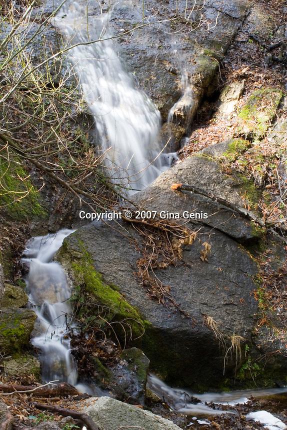 Waterfall at Lake Fulmor