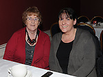 Marie McGahon and Pat Gavin pictured at Refelections on Reaghstown and Westerns GFC 1951-2011 book launch in Dooley's restaurant Edmondstown. Photo: Colin Bell/pressphotos.ie