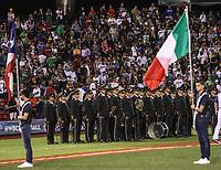 Banda de Musica.<br /> Aspectos del partido Mexico vs Italia, durante Cl&aacute;sico Mundial de Beisbol en el Estadio de Charros de Jalisco.<br /> Guadalajara Jalisco a 9 Marzo 2017 <br /> Luis Gutierrez/NortePhoto.com