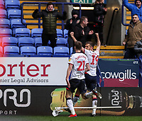 Bolton Wanderers' Gary O'Neil celebrates scoring his side's second goal with team mate Joe Williams <br /> <br /> Photographer Andrew Kearns/CameraSport<br /> <br /> The EFL Sky Bet Championship - Bolton Wanderers v Millwall - Saturday 9th March 2019 - University of Bolton Stadium - Bolton <br /> <br /> World Copyright © 2019 CameraSport. All rights reserved. 43 Linden Ave. Countesthorpe. Leicester. England. LE8 5PG - Tel: +44 (0) 116 277 4147 - admin@camerasport.com - www.camerasport.com