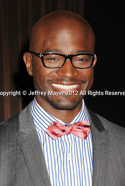 WEST HOLLYWOOD, CA - DECEMBER 12: Taye Diggs attends the 19th Annual Screen Actors Guild Awards Nominations Announcement at the Pacific Design Center on December 12, 2012 in West Hollywood, California.