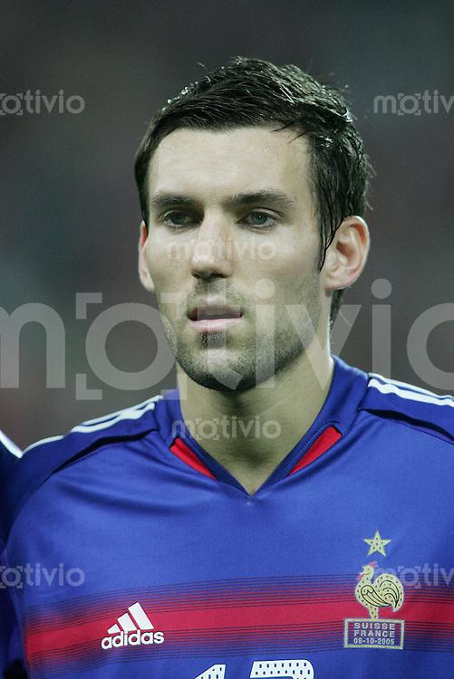 Fussball International WM Qualifikation Schweiz 1-1 Frankreich Portraet, Anthony Reveillere (FRA)