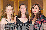 SOCIAL: Looking lovely at the Legion GAA Social in the Killarney Heights Hotel on New Years Eve were, l-r: Noreen OSullivan, Anne Culloty and Dawn Murphy (all Killarney).