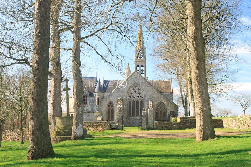 France, Finistère (29), Poullan-sur-Mer, Chapelle Notre-Dame-de-Kérinec // France, Finistere, Poullan-sur-Mer, Chapel Notre-Dame-de-Kerinec