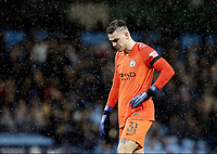 Manchester City's Ederson<br /> <br /> Photographer Rich Linley/CameraSport<br /> <br /> Emirates FA Cup Fourth Round - Manchester City v Burnley - Saturday 26th January 2019 - The Etihad - Manchester<br />  <br /> World Copyright © 2019 CameraSport. All rights reserved. 43 Linden Ave. Countesthorpe. Leicester. England. LE8 5PG - Tel: +44 (0) 116 277 4147 - admin@camerasport.com - www.camerasport.com