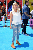 Tori Spelling at the world premiere for &quot;The Emoji Movie&quot; at the Regency Village Theatre, Westwood. Los Angeles, USA 23 July  2017<br /> Picture: Paul Smith/Featureflash/SilverHub 0208 004 5359 sales@silverhubmedia.com