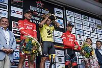 Podium:<br /> <br /> 1st place: Dylan Groenewegen (NED/Lotto NL - Jumbo)<br /> 2nd place: John Degenkolb (DEU/Trek Segafredo)<br /> 3th place: Jasper Stuyven (BEL/Trek Segafredo)<br /> <br /> 103th Kampioenschap van Vlaanderen 2018 (UCI 1.1)<br /> Koolskamp &ndash; Koolskamp (186km)