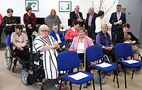 at the opening of the Irish Wheelchair Association new Community Centre at The Reeks Gateway, Killarney on Friday.  Picture: macmonagle.com