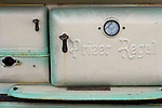 Old Prizer Regal wood stove front.