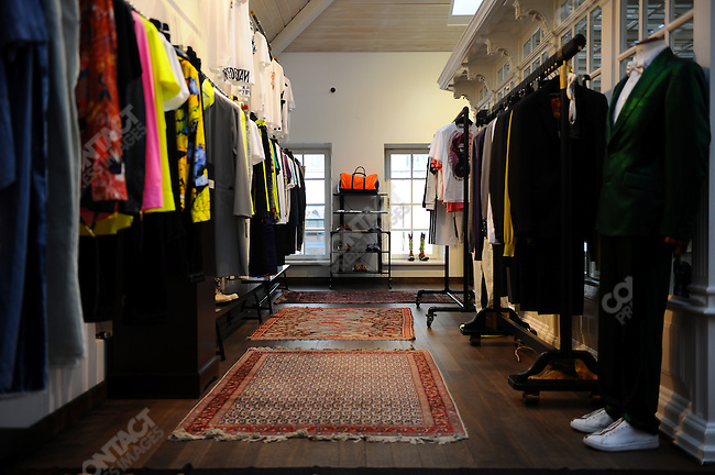 The Simachev clothes store, Moscow, Russia, July 12, 2009
