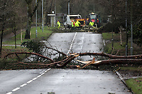 2014 02 12 Severe weather affects parts of Swansea, Wales, UK