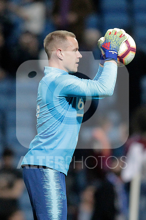 FC Barcelona's Marc-Andre Ter Stegen during La Liga match. February 27,2019. (ALTERPHOTOS/Alconada)