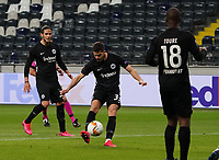 Andre Silva (Eintracht Frankfurt) zieht ab - 12.03.2020: Eintracht Frankfurt vs. FC Basel, UEFA Europa League, Achtelfinale, Commerzbank Arena<br /> DISCLAIMER: DFL regulations prohibit any use of photographs as image sequences and/or quasi-video.