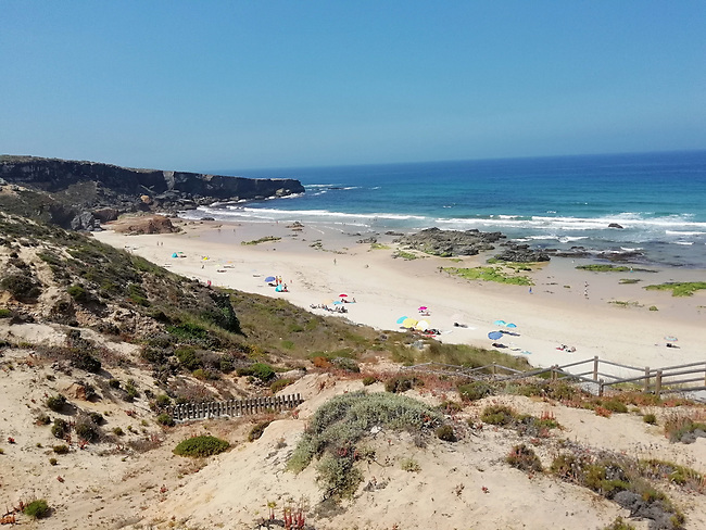 Portugal, Alentejo, Praia do Malhão