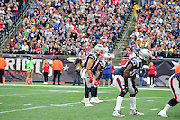 Sunday, October 2, 2016: New England Patriots wide receiver Julian Edelman (11) lines up to take a direct snap during the NFL game between the Buffalo Bills and the New England Patriots held at Gillette Stadium in Foxborough Massachusetts. Buffalo defeats New England 16-0. Eric Canha/Cal Sport Media