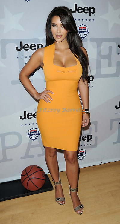 "Kim Kardashian at the USA Basketball Presents ""Power Forward"" event held at LA Center Studios, Sound Stage 6 Los Angeles, CA. April 22, 2012"