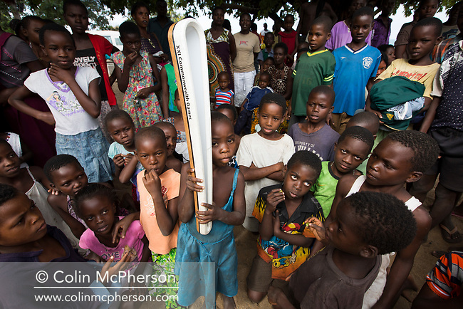The Queen's Baton today from Lilongwe, the nation's capital to Lake Malawi, a distance of around 100km, during which it was carried by a mixture of elite athletes and local people from communities along the way, before being presented at a sports event on the shores of the lake at Livingstonia, on April 21, 2017. This Queen's Baton Relay will visit all 70 nations and territories of the Commonwealth, over 388 days and cover 230,000km. It will be the longest Relay in Commonwealth Games history, finishing at the Opening Ceremony on the Gold Coast on 4th April 2018.