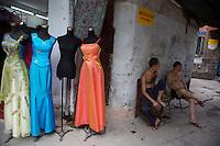 Wedding Shopping Street in Guangzhou.