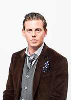 The Netherlands, Utrecht, 21 September 2011. Portrait Mike Weerts, dutch film actor, in openingfilm NFF De Bende van Oss. Photo: Bram Belloni / Nederland, Utrecht, 21 september 2011. Portret Mike Weerts, acteur, cast De Bende van Oss, openingsfilm NFF 2011. Foto: Bram Belloni / (c) 2011, www.belloni.nl