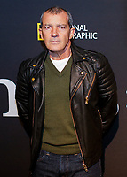 NEW YORK CITY - APRIL 19: Antonio Banderas attends the GENIUS: PICASSO interactive experience at the Genius: Studio, 100 Avenue of the Americas in New York City on April 19, 2018.  The Genius: Studio is an interactive installation designed to inspire people to create their own masterpieces. (Photo by Kena Betancur/National Geographic/PictureGroup)