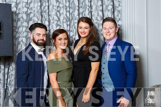Craig Reynolds, Laura Ryan, Emma Kate O'Dwyer and Warren DeCoursey from Waterford.